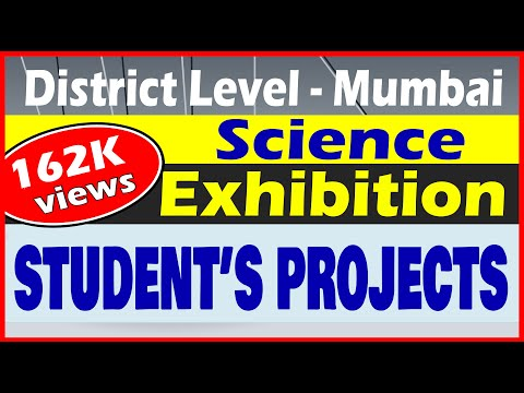 District level Science Exhibition North Zone Mumbai | Students Science Projects-2017 |