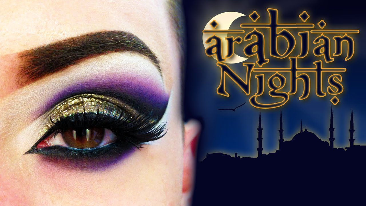 Arabian nights make up tutorial ft roseofnaples youtube baditri Image collections