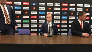 Jokerit - Kunlun Red Star 11.1.2018 post-game press