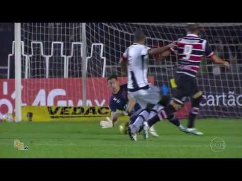Gols - Vasco 1 x 1 Santa Cruz - Copa do Brasil 2016