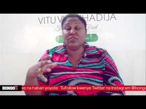 Khadija Mwanamboka akizungumzia mafanikio ya mgahawa wake wa VVK