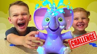 Игра для детей Слоник пускающий Фонтан Elly Fountain Game