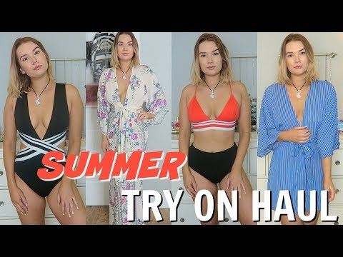 SUMMER TRY ON HAUL | SWIMSUITS & CLOTHING