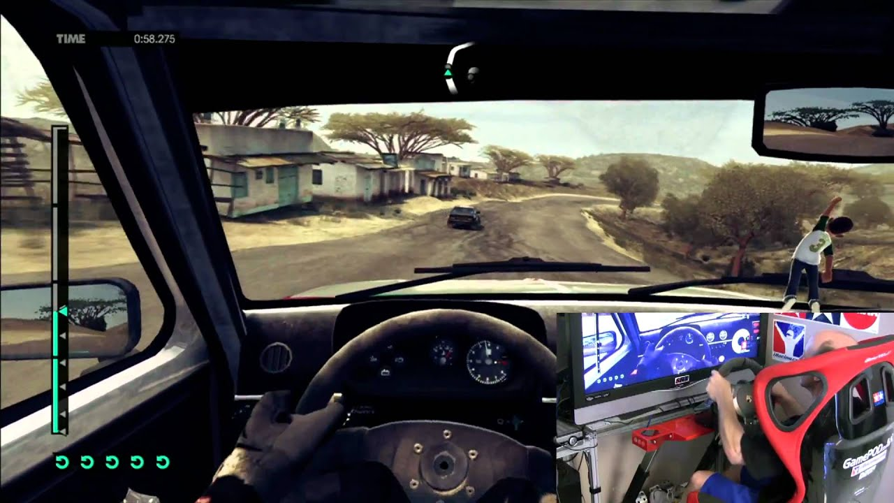 dirt 3 gameplay xbox 360 w fanatec gt2 kenya historic. Black Bedroom Furniture Sets. Home Design Ideas