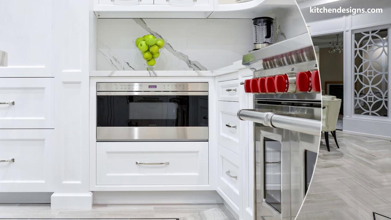 White Kitchen by Kitchen Designs by Ken Kelly - US KBDN ...
