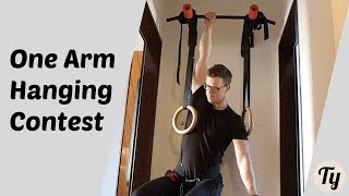 One Arm Deadhang | +21kg/46lbs | January Grip Contest