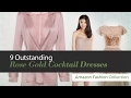9 Outstanding Rose Gold Cocktail Dresses Amazon Fashion Collection