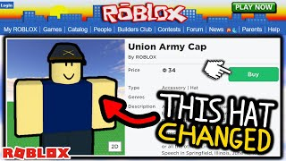 Roblox Just Completely Changed These 2009 Hats After 12 Years?