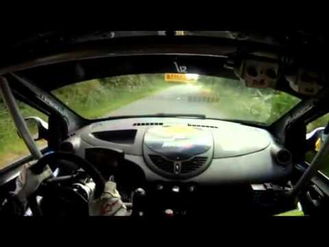 Roberto Ballesteros (Renault Twingo R2) TC-8 Cañón do Sil