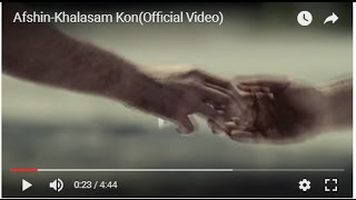 Afshin-Khalasam Kon(Official Video)