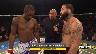 Fight of the Week: Spann vs. Nicholson