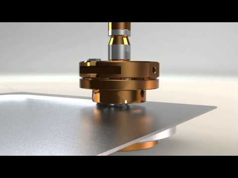 How Mate S Rollerball Tool Forms Sheet Metal Youtube