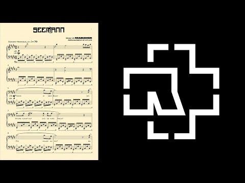 [18] Rammstein - Seemann Piano Solo Arrangement with Lyrics + Sheet Download