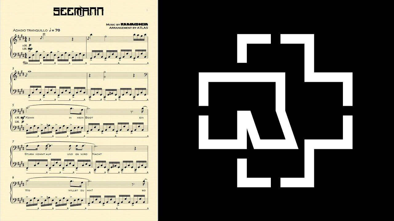 Скачать klavier rammstein.