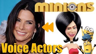 """Minions"" Voice Actors and Characters"