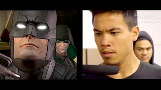 Batman: The Enemy Within - Batman vs. Riddler Fight Choreography
