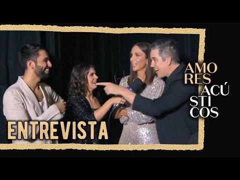 Entrevista com Silva Ivete Sangalo e Rogério Flausino Ao Vivo - Amores Acústicos - 2019