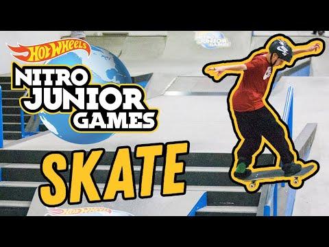 Skate Street & Skate Park FULL EVENTS - Nitro Junior Games