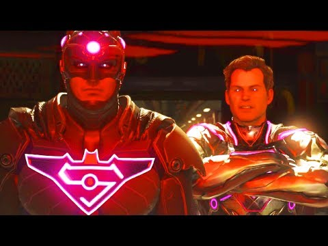 """SUPERMAN ENDING! THE NEW LEGION OF SUPER HEROES! - Injustice 2 Story Mode """"Superman"""" Chapter 12"""