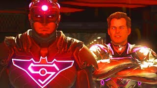 SUPERMAN ENDING THE NEW LEGION OF SUPER HEROES - Injustice 2 Story Mode Superman Chapter 12