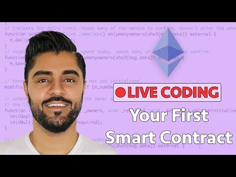 Create Your First Ethereum Smart Contract - Live Coding