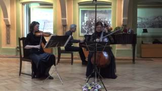 Joseph Rheinberger   Piano Trio no 3, Op 121 B dur   II Romanze  Andantino