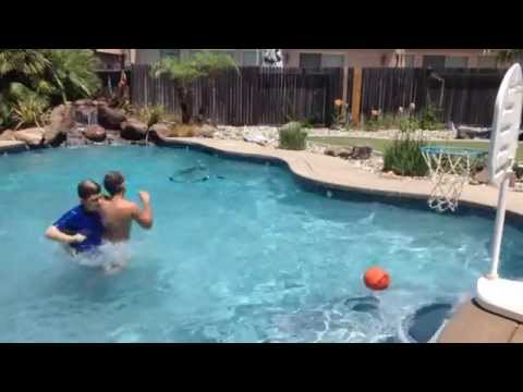 Swimming pool trick shots youtube - Awesome swimming pool trick shots ...