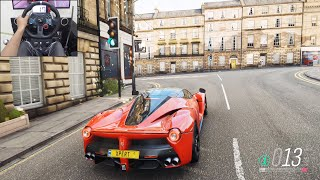 LaFerrari - Forza Horizon 4 | Logitech g29 gameplay