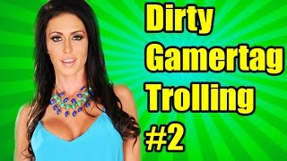 EXTREME DIRTY GAMERTAG TROLLING 2! (Call Of Duty Ghosts)