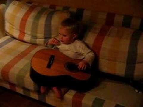 sjunga och spela gitarr bara