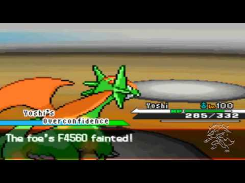 Pokemon Black Wifi Battle #13 Vs FireHeart4560 400th Upload.