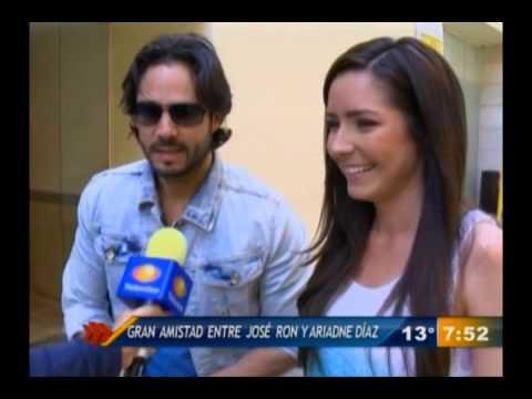 Las Noticias - Gran amistad entre Ariadne Díaz y José Ron ...