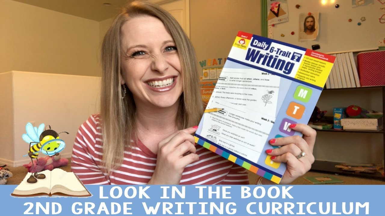 Look in the Book || 2nd Grade Writing Curriculum | Evan Moor 6 Trait Writing