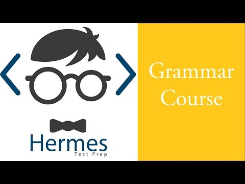 Grammar Course: Items in a Series (Serial comma)