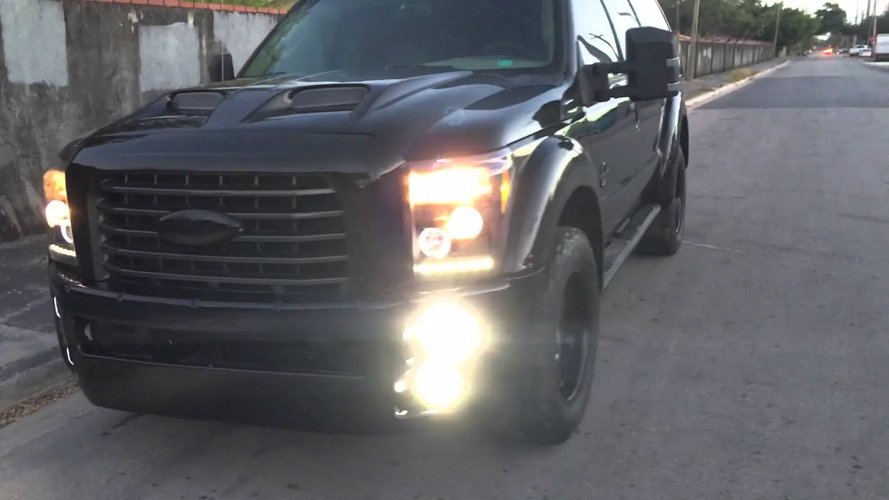 2016 Ford Excursion >> 2016 ford excursion conversion - YouTube