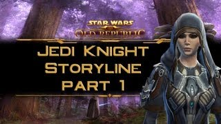 SWTOR Jedi Knight Storyline part 1: The Jedi trials on Tython