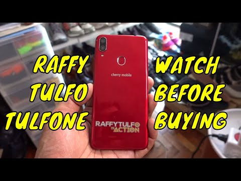 RAFFY TULFO 'TULFONE' REVIEW, UNBOXING! (Cherry Mobile Flare S7)