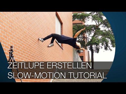 Zeitlupe erstellen I Slow Motion Tutorial