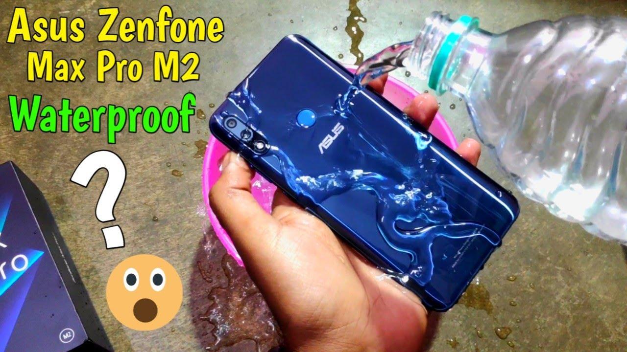 newest 0d9c1 9df85 Asus Zenfone Max Pro M2 Waterproof Test & Durability Test - Will it Survive  or Dead??