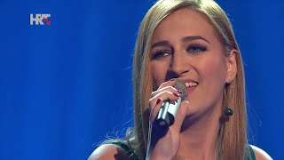 "Bruna: ""Daleko"" - The Voice of Croatia - Season1 - Live4"
