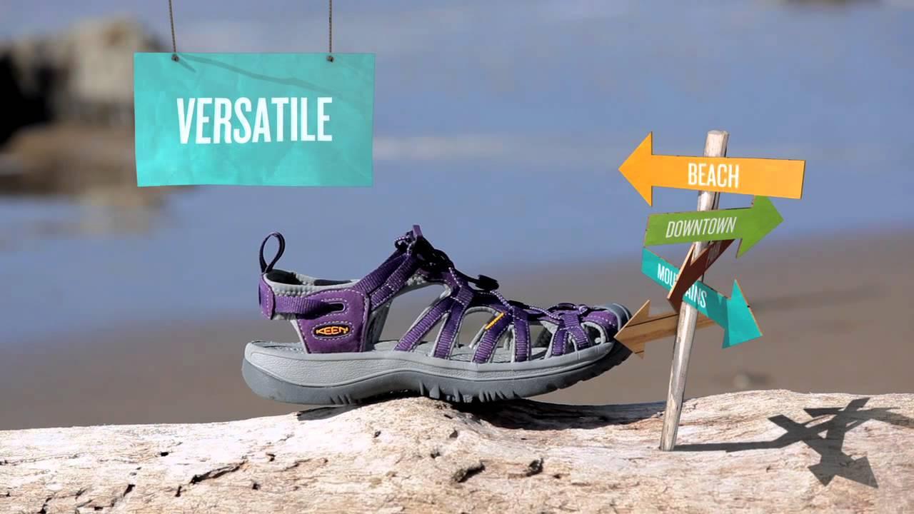 cde54f99620 Keen Whisper Sandals - awesome lightweight women s sandals ! - YouTube