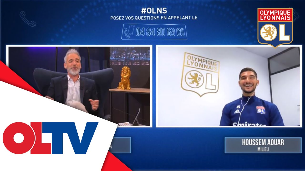 Extrait de Houssem Aouar dans OLNS | Olympique Lyonnais