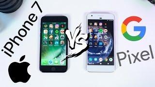 iPhone 7 vs Google Pixel Speed Test