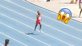 8-Year-Old Runs A 28s 200m! | AAU Junior Olympic Games NATIONAL RECORD