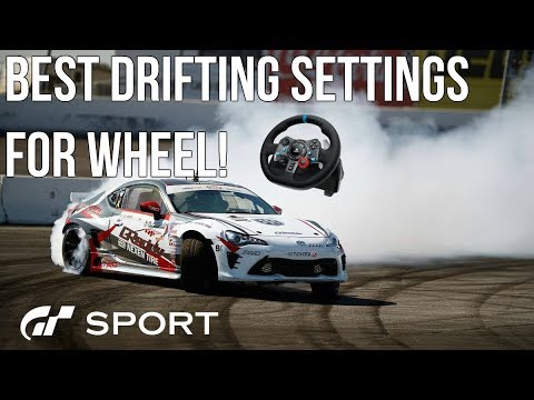 Download Gran Turismo Sport: BEST DRIFTING SETTINGS FOR WHEEL! (Gt Sport)