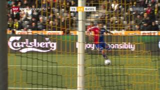 Young Boys - Basel 4:2 22.02.2015