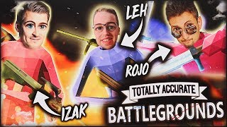 NAJGORSZY BATTLE ROYALE? Trio w Totally Accurate Battlegrounds