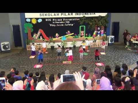 Kindy five senses song and movement
