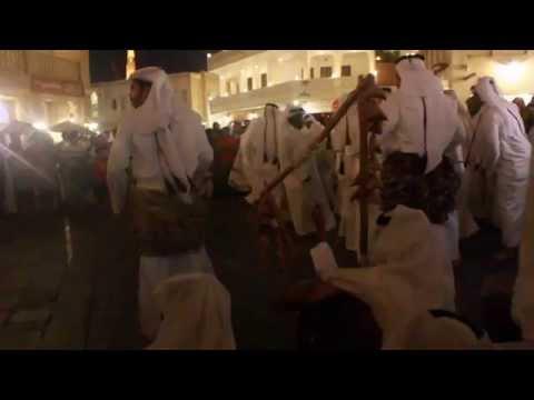 Local dance at Souq Waqef, Doha QATAR