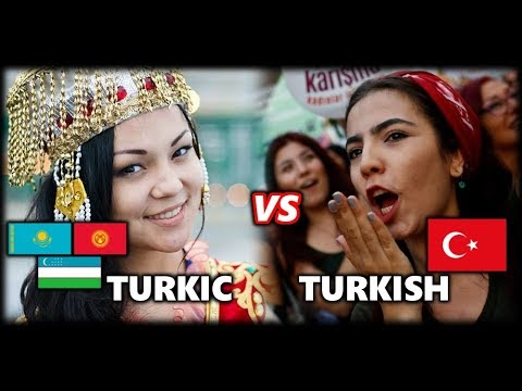 What's the Difference between Modern Turkish People and Turkic Central Asians?
